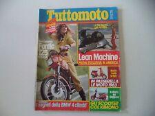 TUTTOMOTO 2/1983 DUCATI PANTAH 500 SL/MORINI 500 CAMEL/FANTIC 125 STRADA/KRAM-IT