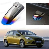 Titanium Blue Exhaust Muffler Tail Pipe Tip Tailpipe for Ford Foucs 2012-2014 13