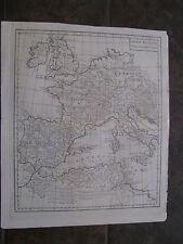 1795 ORIGINAL Map Italy, Spain, France, Germany, England