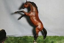 Peter Stone Woodgrain Rearing Stallion Horse Special Run # 9677