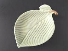 Fitz and Floyd Leaf Trinket Dish Handpainted