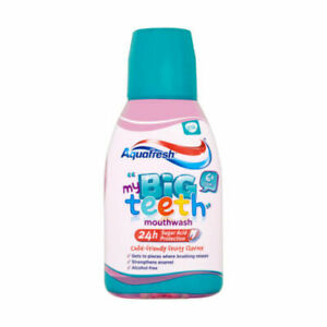 Aquafresh Big Teeth Mouthwash Original Fruity Flavour - 300ml