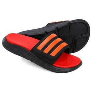 Adidas DURAMO SL SLIDE Slipper Red / Black GYM Slide Sandals FY87870 SZ 10 NIB