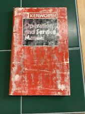 Kenworth Owner Operator User Guide Manual