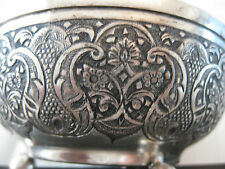 VINTAGE MUSEUM QUALITY SOLID SILVER Indo-Persian Islamic/ Middle Eastern BOWLS