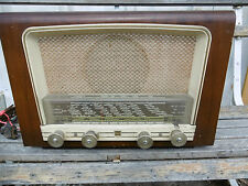 POSTE A LAMPES  RADIO  T.S.F PHILIPS TYPE BF 411 CIRCA 1951