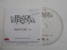 THE BLACK EYED PEAS : DON'T LIE [ CD SINGLE ] ~ PORT GRATUIT !