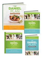 The Daniel Plan 4 Bk set 40 Days,Journal,Study Guide & Cookbook by Rick Warren