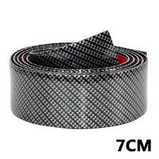 2.5m*7cm DIY Car Door Sticker 4D Carbon Fiber Rubber Sill Protector Edge Guard