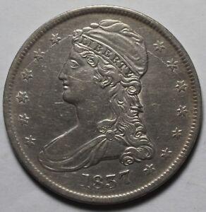 1837 Bust Half Dollar I76