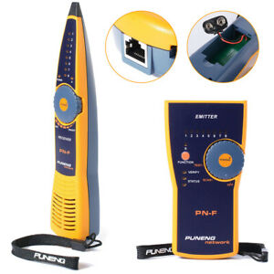 PN-F Telephone Network Cable Tester Wire Tracker Line Finder Cable Probe Tracer