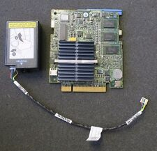 Dell PowerEdge M610 PERC 6/i 6i SAS SATA RAID Controller H145K + Battery & Cable