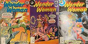 Wonder Woman LOT 3 Comics DC 251 252 260 WHITMAN