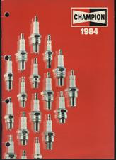 (182) Catalogue bougies CHAMPION 1984