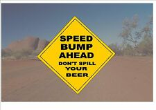 Australian Style Road Sign Australia Road Sign NoveltyBeer Outback Joke Sign