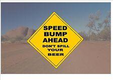 Segnale STRADALE stile australiano Australia Cartello Stradale noveltybeer OUTBACK scherzo sign