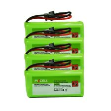 4x 2.4V 800mAh Ni-MH Cordless Phone Battery For Uniden BT-1008 BT-1016 BT-1021