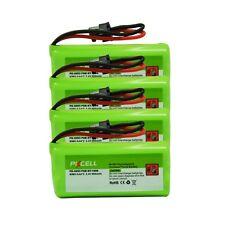 4x 2.4V 800mAh Ni-MH Cordless Phone Battery For Uniden BT-1008 BT-1016 BT-1021