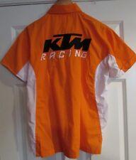 KTM Motorcycle Racing Team Orange/White Shirt Medium NWT Brand New 3PW085623