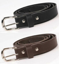 Big Size Mens Real Leather Belt 1/1.25/1.5 Wide Made In England 42-54 inch