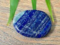 Lapis Palm Stone Soap Lapis Lazuli Smooth Stone Flat Specimen Reiki Chakra