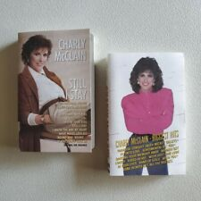 CHARLY McCLAIN - Bundle Lot of 2 Cassette Tapes - Biggest Hits + Still I Stay