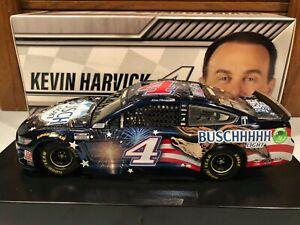 2020 Action Kevin Harvick #4 Busch Light Patriotic 1/24 Color Chrome DIN#002