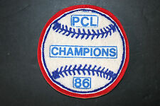 PCL Champions '86 AAA Baseball Jacket Patch