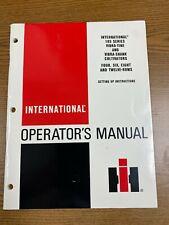 International Operators Manual 183 Series Vibra Tine Amp Shank Cultivators