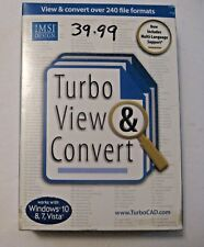 NEW IMSI DESIGN TURBO VIEW CONVERT SOFTWARE ~ NEW IN BOX