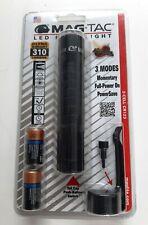 Maglite Mag Tac SG2LRE6 310 Lumens Plain Bezel LED Flashlight Black