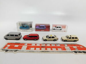 CG527-0,5 #7x Herpa H0 / 1:87 Model VW : Polo DB / Iaa + Vento / Passat Taxi