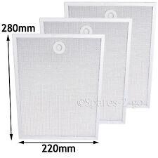 HYGENA Genuine Cooker Hood Aluminium Mesh Filters 280 x 220 mm APM2592 APP2180 3