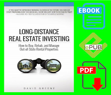 Long-Distance Real Estate Investing BY David Greene 🔥 {P.'D'.F}✅