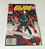 Marvel G.I.Joe #91 Newsstand Variant Comic Book 1989 Red Ninjas Snake Eyes