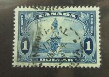 1935 Canada SC #227 CDS  CHAMPLAIN MONUMENT used stamp