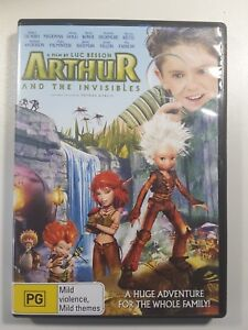 Arthur And The Invisibles DVD - Kids Movie - LUC BESSON - Region 4