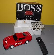 HUGO BOSS Red Porsche 959 27MHZ Radio Control Sports Car w/ Remote & Box