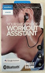 ANKER soundcore  wireless sport earbuds workout assistant IP68