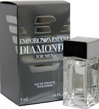 Emporio Armani Diamonds 0.14oz./14ml Edt Mini Splash For Men New In Box