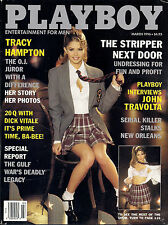PLAYBOY MARCH 1996 PRISCILLA TAYLOR - JOHN TRAVOLTA - DE DE LIND NUDE RCVR