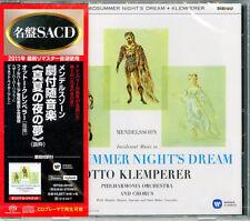 OTTO KLEMPERER-MENDELSSOHN: EIN SOMMERNACHTSTRAUM-JAPAN SACD Hybrid G50