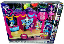 My Little Pony Canterlot High Dance Playset MIB Equestria Girls Minis Toy W/Doll
