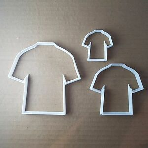T-Shirt Top Vest Clothes Shape Cookie Cutter Dough Biscuit Pastry Fondant Sharp