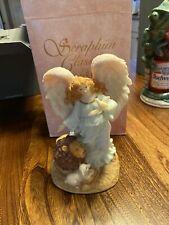 Angel Of Peace Serena Figurine Seraphim Classics Roman Exclusive 74106