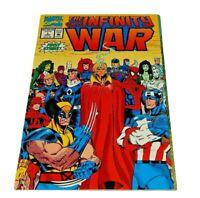 The Infinity War #1  Gatefold Wraparound Cover Unread NM  1992 Marvel Comics