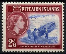 Pitcairn Islands 1957-63 SG#28, 2s6d Whaleboat, QEII Definitives MNH #D42443