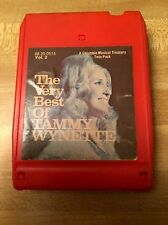 The Very Best Of Tammy Wynette Vol 2 Music 8-Track Columbia House 68 20 0514
