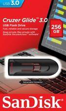 Sandisk 256GO 256 GO CZ600 Cruzer Glide Stick USB 3.0 Memoria Flash Drive
