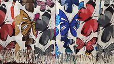 Joblot 12 pcs Butterfly Mixed Design scarf NEW wholesale 70x200 cm lot B